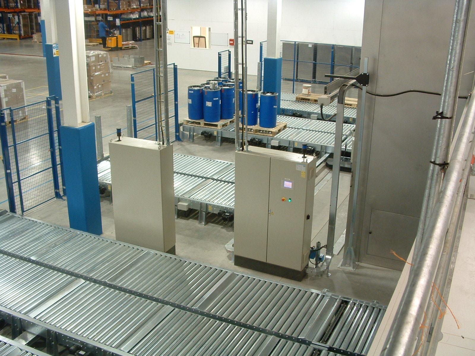 Pallet Handling & Transfer System